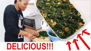 Cook With Me: Delicious Vegetable Soup | All Nigerian Recipes