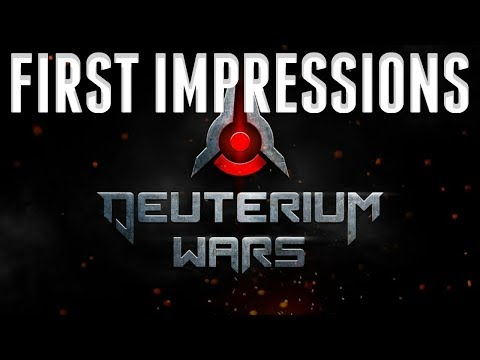 Deuterium Wars First Impressions 2019 - 2D MMO Shooter