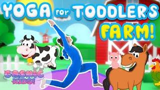 Yoga Time! | On The Farm | Cosmic Kids