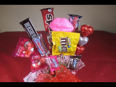 Regalo de dulces y chocolates para enamorados +Tutoriales