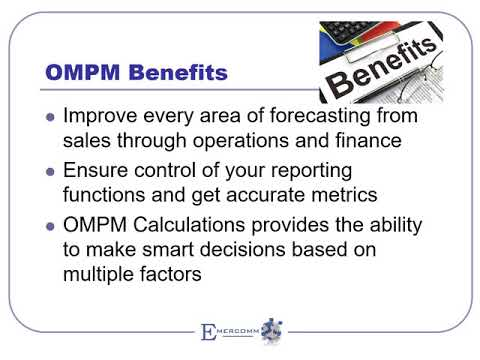OMPM Overview