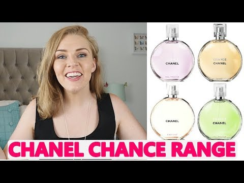 THE CHANEL CHANCE RANGE | EAU VIVE, EAU FRAICHE, EAU TENDRE | Soki London