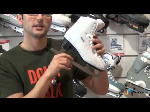 Cómo seleccionar patines de hielo