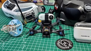 Insta360 Go FPV Stabilization can Reocord Acro Footage