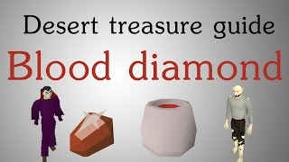 [OSRS] Desert Treasure guide - Blood diamond (43 prayer)