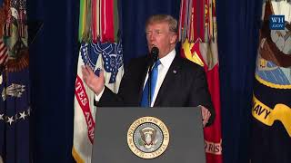 BEST OF: President Donald Trump Massive Presidential Speech to Address the Nation 22 August 2017
