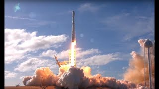 Falcon Heavy first LAUNCH and LANDING
