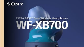 YouTube Video YKsU9quN1hA for Product Sony WF-XB700 Truly Wireless Headphones w/ Extra Bass & Weather Resistance by Company Sony Electronics in Industry Headphones