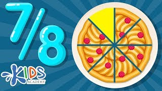 Fractions For Kids | Math For 2nd & 3rd Grades | Kids Academy