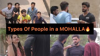 Types Of People In A Mohalla |HALF ENGINEER|