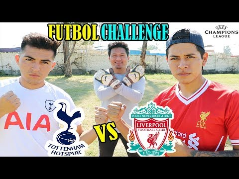 DUELO FINAL!!! LIVERPOOL Vs TOTTENHAM 😱 Champions League (1ra PARTE)