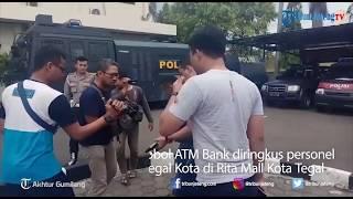 Tiga Pelaku Pembobol ATM Bank Diringkus Personel Satreskrim Polres Tegal Kota