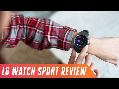 LG Watch Sport: too big for health and fitness