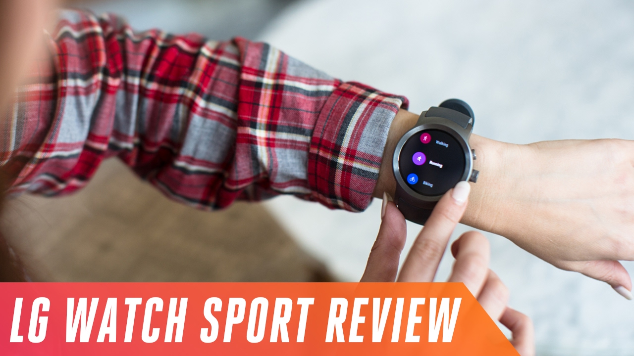 LG Watch Sport: too big for health and fitness thumbnail
