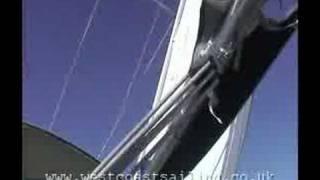 Sailing on a Hallberg-Rassy 342