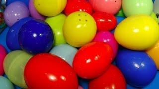 30 Surprise Eggs! ANGRY BIRDS Cars SONIC Pet Shop TOY Story SMURFS  Kinder Surprise SpongeBob!