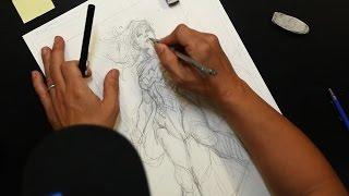 DC Comics Jim Lee Talks Wonder Womans Evolution & His Drawing Process