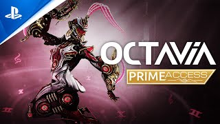 PlayStation Warframe - Octavia Prime Access Trailer | PS5, PS4 anuncio