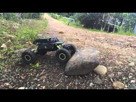 Rock Crawler HB P1803 RC Car 1:18 |  Revisado y Desempaquetado | Video Review | Llevado al limite!