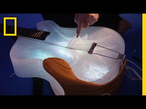 Hudební nástroje z ledu