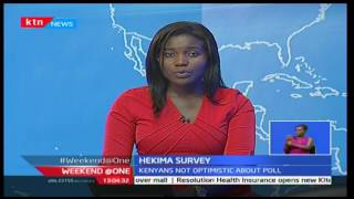 Survey shows majority of Kenyans have little to look forward to in the coming General Election