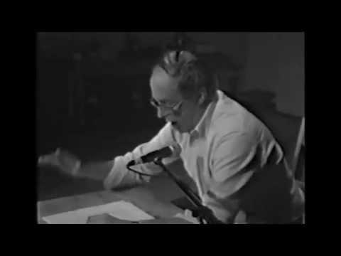 « Bernard Heidsieck  la poésie en action » (extrait) de AL Chamboissier & P. Franck
