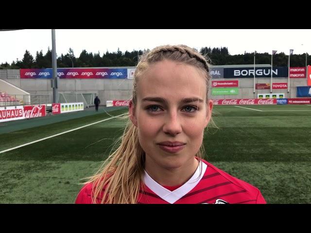 Elín Metta: Áttum að nýta færin betur
