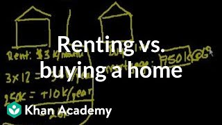 Is Buying A Home Always Better?   Housing   Finance & Capital Markets   Khan Academy