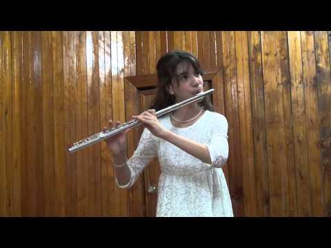 """И.Бах """"Шутка"""", флейта - Корякина Мария"""