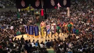 大相撲春場所11日目遠藤ー貴ノ岩