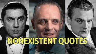 Famous Nonexistent Movie Quotes (PART 1)