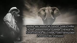 Jah Prayzah - Gamuchirai (A Tribute to Dr. Oliver Mtukudzi)