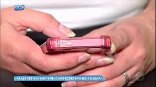 Conheça as lesões causadas pelo uso excessivo do celular