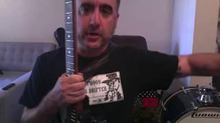 Danzig - Left Hand Black Guitar Lesson part 1