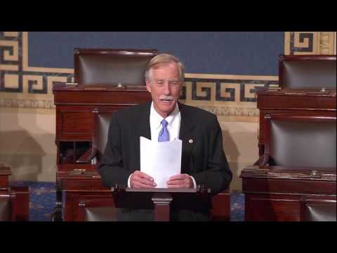 Senator King Floor Speech on ACA Replacement