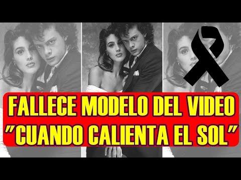 PIERDE la VIDA MODELO que APARECIÓ en el FAMOSO vídeo de LUIS MIGUEL CUANDO CALIENTA EL SOL