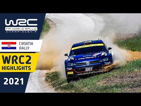 WRC2 2021 第3戦ラリー・クロアチア ハイライト動画