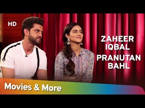 Zaheer Iqbal & Pranutan Bahl interview with Siddharth Kannan | Notebook [2019] Movies & More