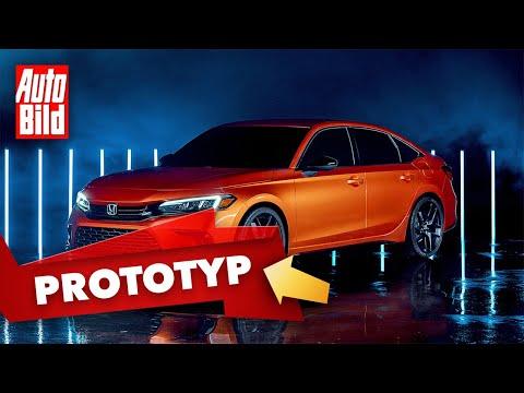 Honda Civic (2021): Neuvorstellung - Prototyp - Design - Bilder