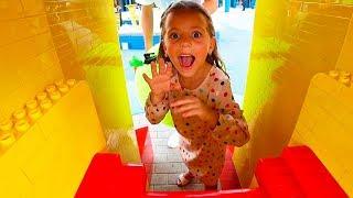 Чего ИСПУГАЛАСЬ Настя Квест ЧЕЛЛЕНДЖ в ЛЕГОЛЕНД Legoland для детей for kids