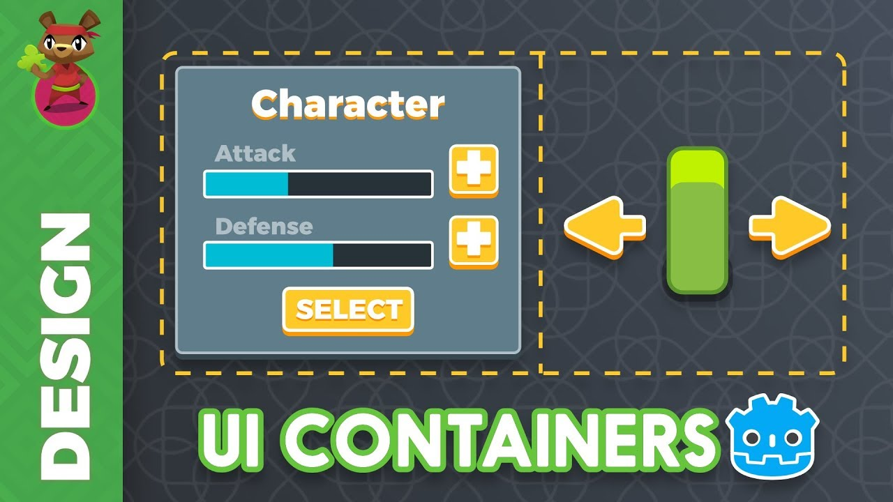 Introduction to UI Containers in Godot 3 (tutorial)
