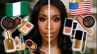 Nigerian VS American Makeup | Jackie Aina