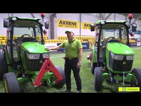 John Deere Kompakttraktor 4066R - film på YouTube