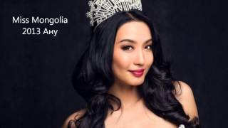 Mongoliin ue ueiin missuud bolon Top modeliud (Mongolians miss and Top models)