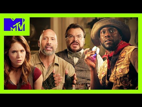 The Teen Actors of 'Jumanji: Welcome to the Jungle' School Their Older Counterparts | MTV