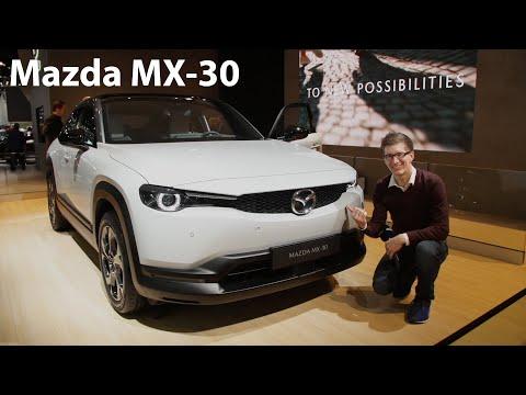 Auf Tuchfühlung mit dem neuen Mazda MX-30 - Autophorie