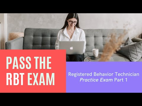 RBT Exam Practice Questions [Part 1] | Registered Behavior ...