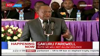 President Uhuru Kenyatta: We will work together to ensure that the stadium is completed by next year