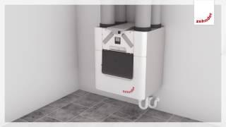 Installation Zehnder ComfoAir Q | Zehnder comfortable indoor ventilation