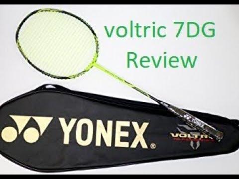 Yonex Voltric 7DG badminton racket review in depth